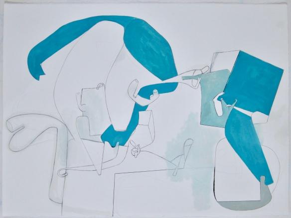 Drawing 57 x 76 cm