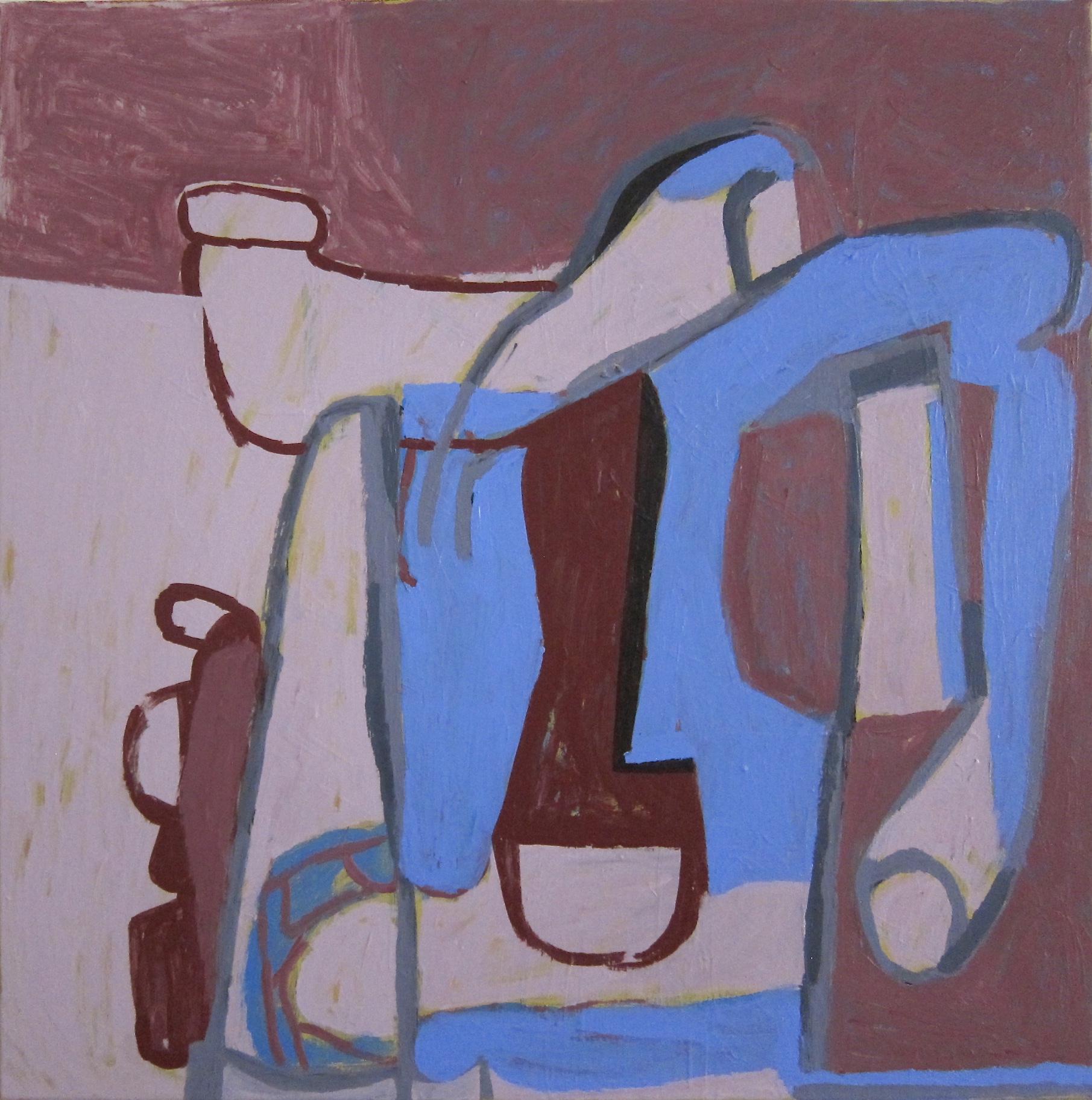 Acrylic on canvas, 60 x 60 cm. June/July 2018. | Sarah Hoskins\' Journal